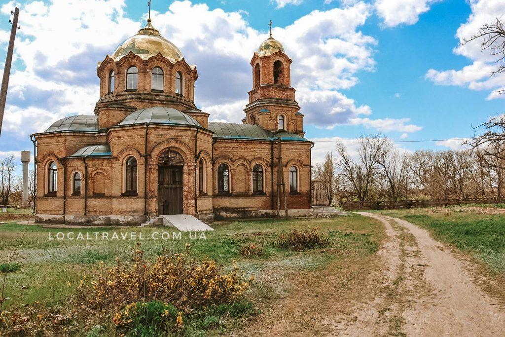 Свято-Троицкий храм село Девнинское