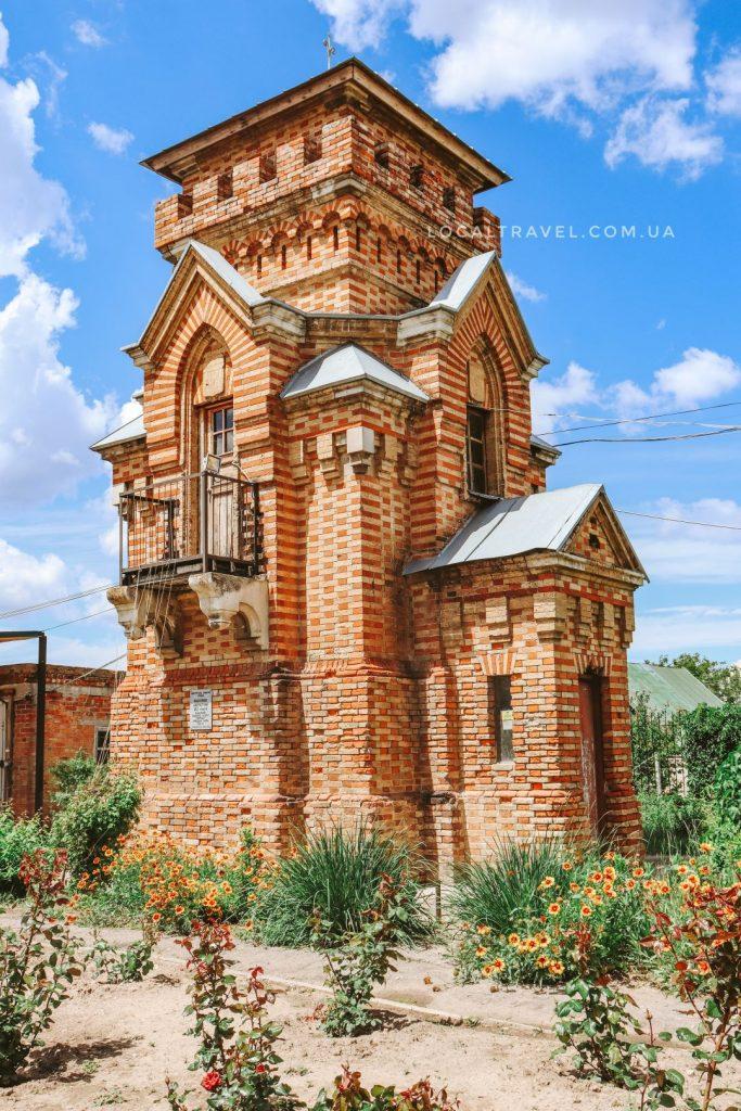 Смотровая башня усадьбы Попова