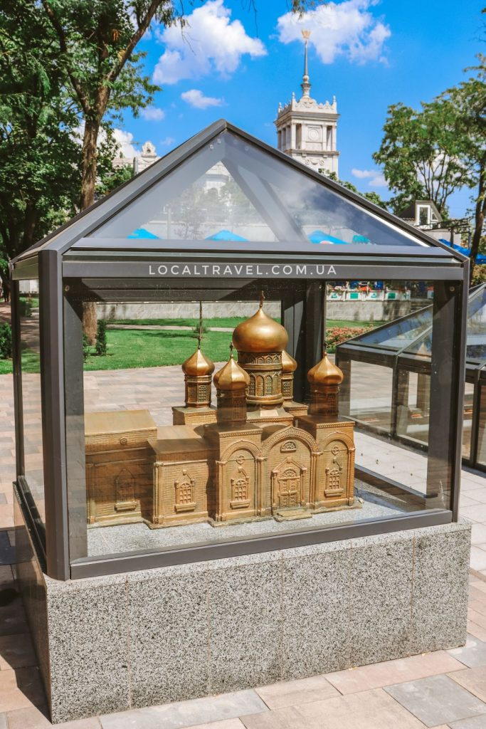 Макет храма Марии Магдалины