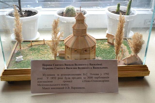Церковь Святого Василия Великого город Васильевка