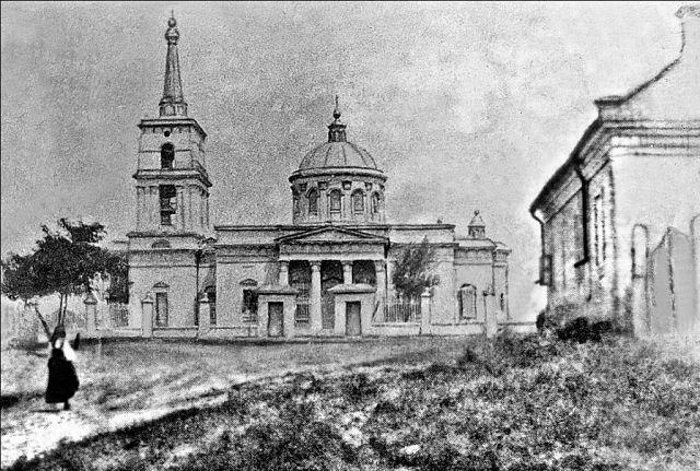 Первая церковь во имя святых Петра и Павла в Васильевке