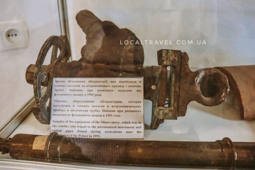 Экспонаты музея усадьбы Попова