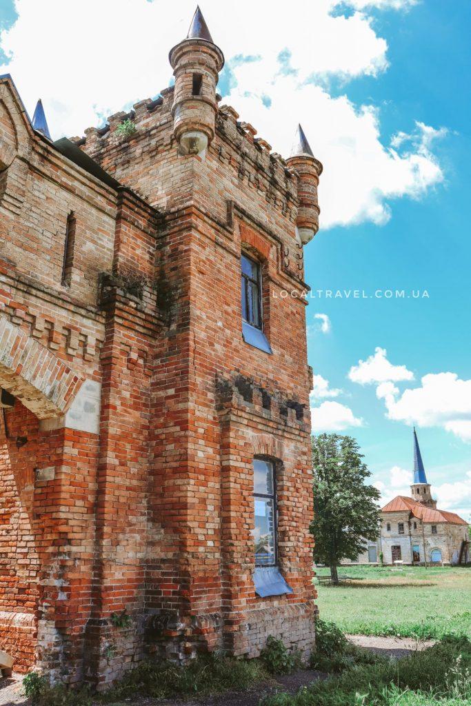 Английский замок усадьбы Попова