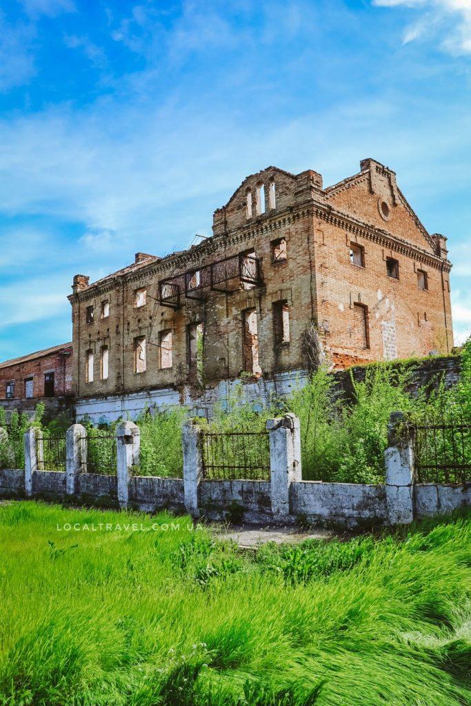 Паровая мельница Гейна в селе Трноватое