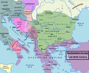 Первое Болгарское царство