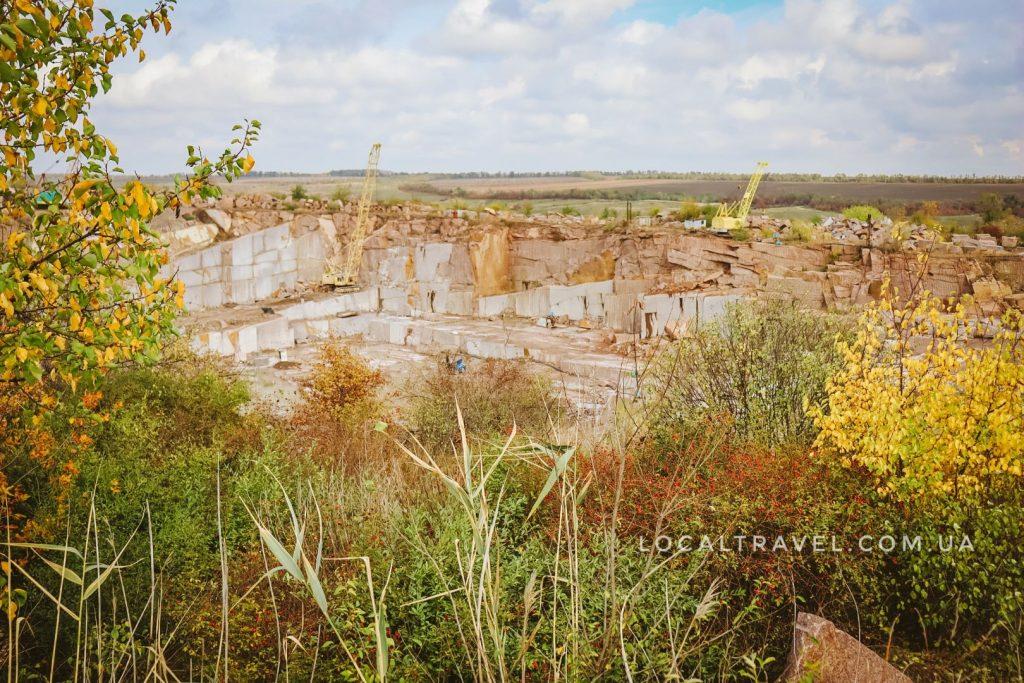 Киевский гранитный карьер